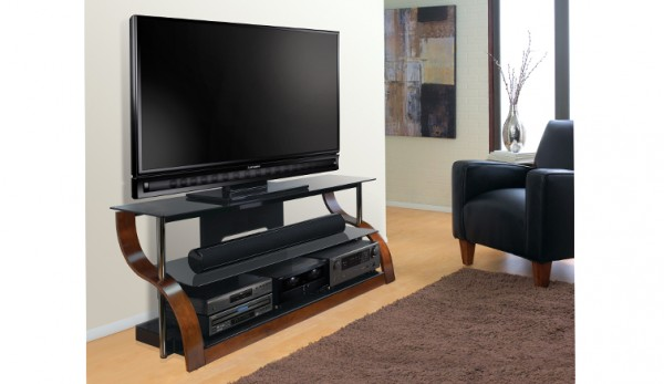 Bell'O Curved 73 Inch TV Stand