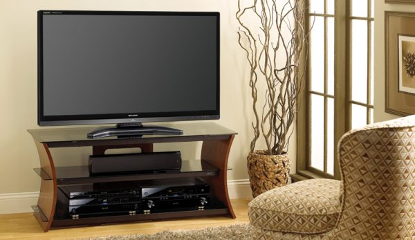 Bell'O Curved 60 Inch TV Stand