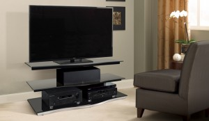 Bell'O 55 Inch TV Stand - High Gloss Black