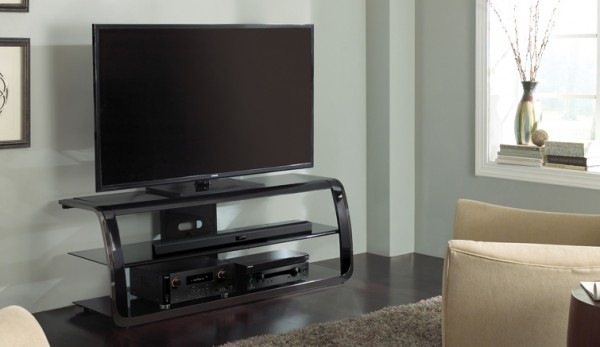 Bell'O Curved 65 Inch TV Stand