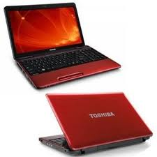 Toshiba 15.6 Inch Laptop In Red