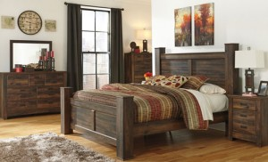 Ashley Quinden Queen Bedroom Set