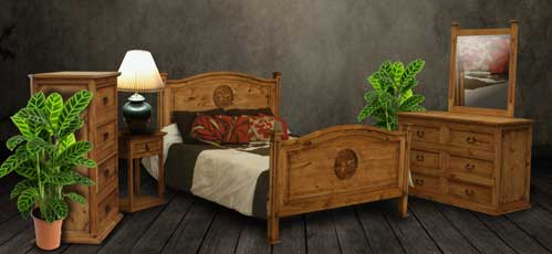 Rustic Queen Bedroom Set