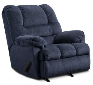 Zig Zag Recliner in Blue
