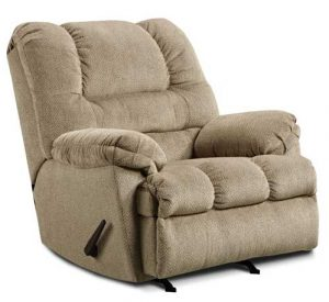 Zig Zag Recliner in Tan