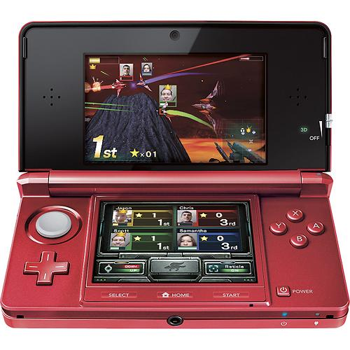 Nintendo 3DS-XL Gaming System - Red