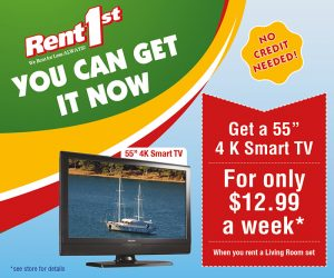 special price on television rental