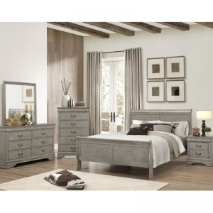 Louis Philippe Queen Bedroom Set
