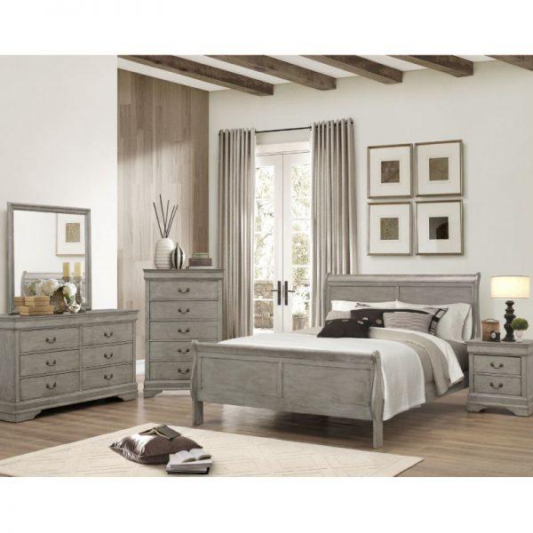 Louis Philippe Queen Bedroom Set