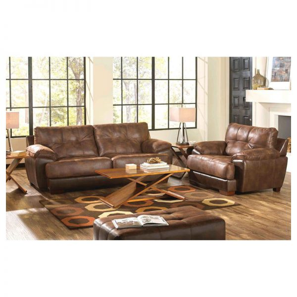 Catnapper Sofa Loveseat - Drummond (Sunset)