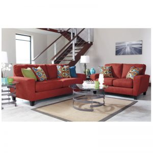 Ashley Sofa Loveseat - Sagen (Sienna)