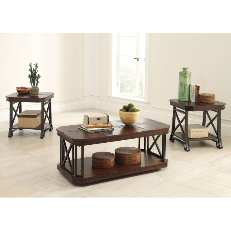 Ashley Vinasville Coffee End Tables Rent To Own No Credit Needed