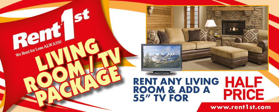Living Room Specials at Rent 1st