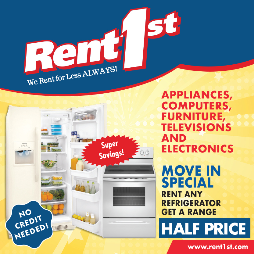 Move In Special at Rent 1st.