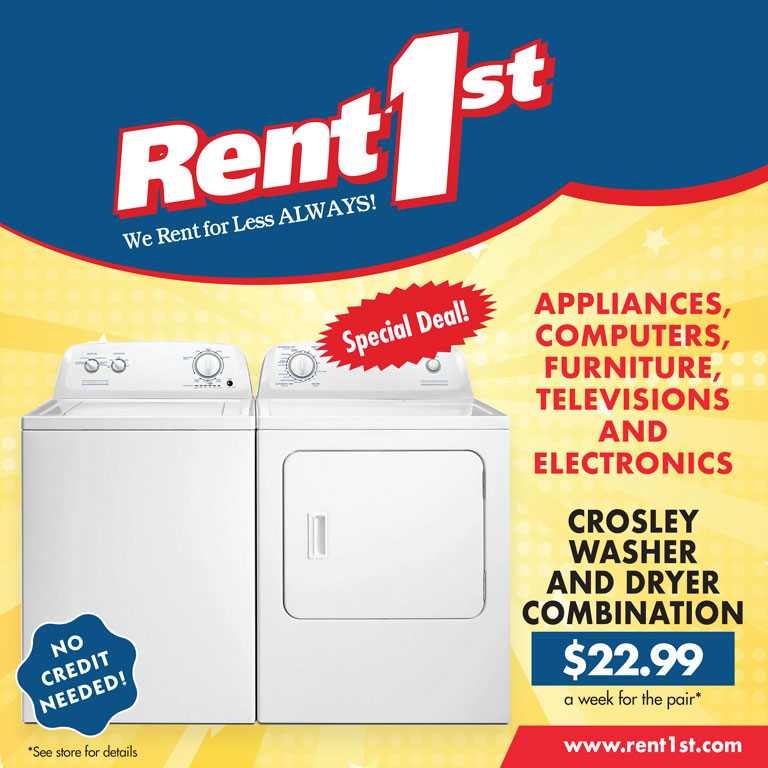 Washer and Dryer Specials